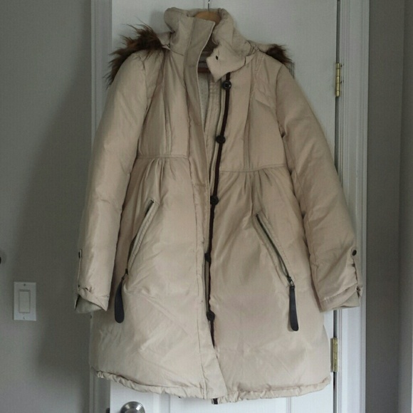 68a5fd950 Momo maternity down goose winter jacket S size